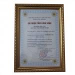 phó chủ tịch tp Hà Nội trao tặng bằng khen tặng công ty cổ phần Làng Rùa